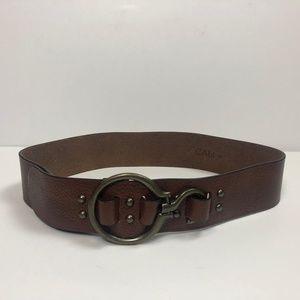 Unique CAbi Leather Belt